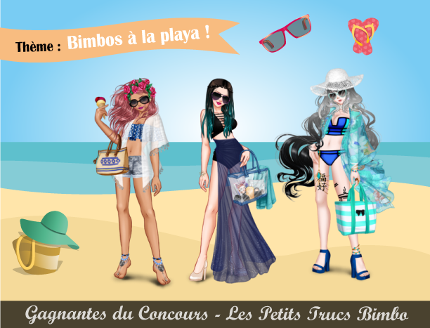 concours mode bimbos la playa les petits trucs bimbo. Black Bedroom Furniture Sets. Home Design Ideas